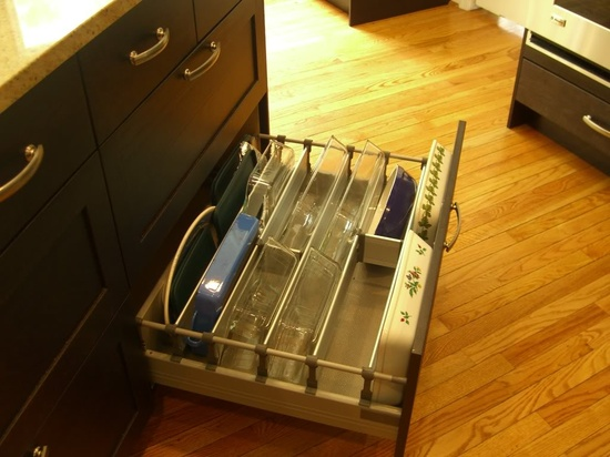 Storage for baking pots and lids