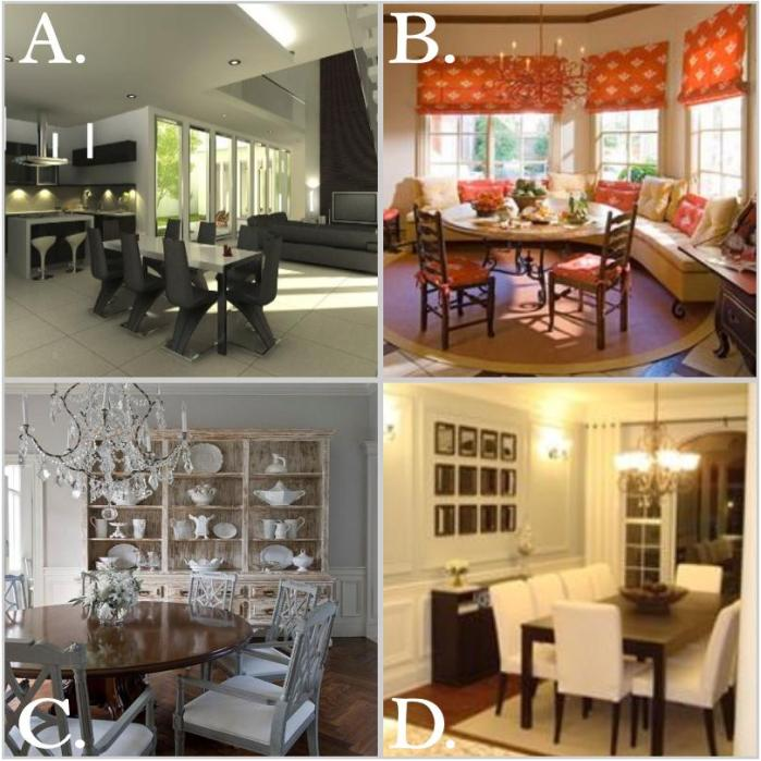 Dining Room Choices