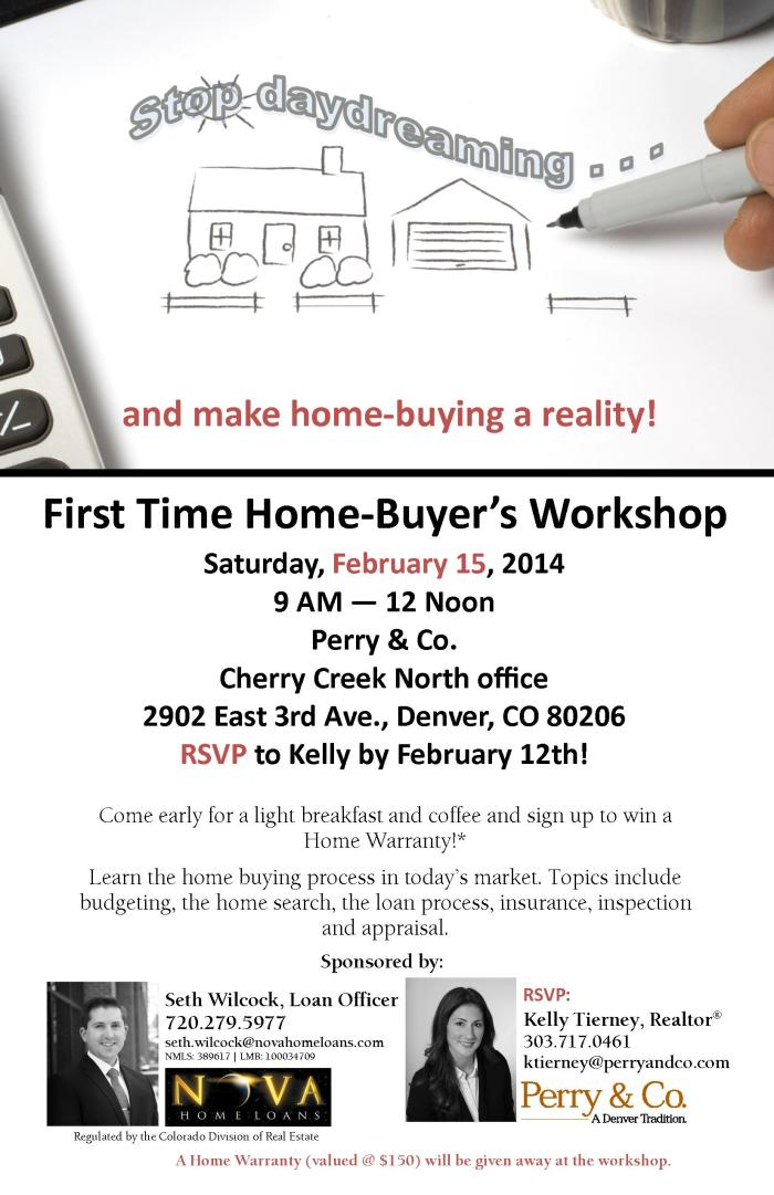 First-time Home Buyers Workshop Invite (2)